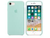 Силиконовый чехол Apple для iPhone 7/8 marine green (зеленая лагуна)