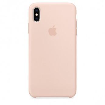 Силиконовый чехол для iPhone XS MAX, Розовый песок
