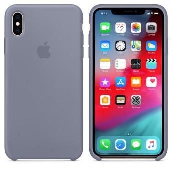 Силиконовый чехол для iPhone XS MAX, Тёмная лаванда