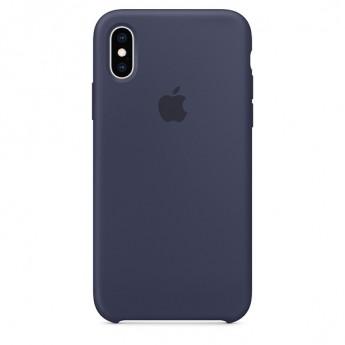 Силиконовый чехол для iPhone XS, Голландский синий
