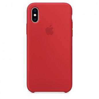 Силиконовый чехол для iPhone XR, Красный