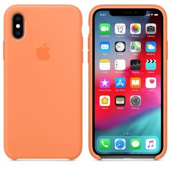 Силиконовый чехол для iPhone XR, Свежая папайя
