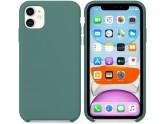 Силиконовый чехол для iPhone 11 Pine Green (сосновый лес)