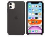 Силиконовый чехол для iPhone 11 Black (чёрный)