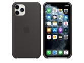 Силиконовый чехол для iPhone 11 Pro Black (чёрный)