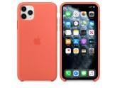 Силиконовый чехол для iPhone 11 Pro Max Clementine (cпелый клементин)