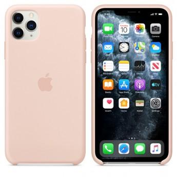Силиконовый чехол для iPhone 11 Pro Max Pink Sand (розовый песок)