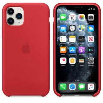 Силиконовый чехол для iPhone 11 Pro Red (красный)