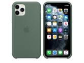 Силиконовый чехол для iPhone 11 Pro Pine Green (сосновый лес)