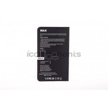 Противоударное стекло 3D MAX black для iPhone 6/6S