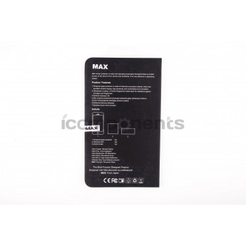Противоударное стекло 3D MAX white для iPhone 6+/6S+