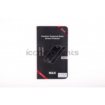 Противоударное стекло 3D MAX black для iPhone 7/8