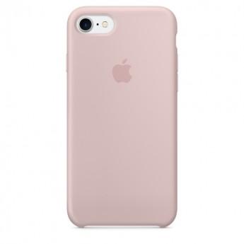 Силиконовый чехол Apple для iPhone 7/8 pink sand (розовый песок)