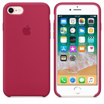 Силиконовый чехол Apple для iPhone 7/8 Rose Red (Красная роза)