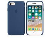 Силиконовый чехол Apple для iPhone 7/8 Blue Cobalt (Тёмный кобальт)