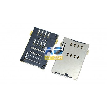 Коннектор SIM-карты (сим), mmc коннектор China (S120)