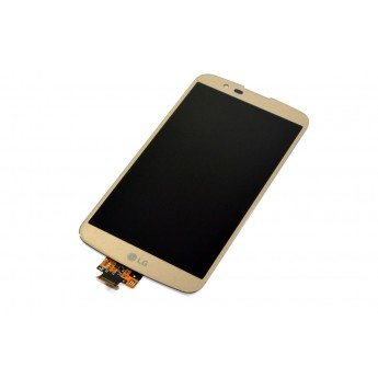 Дисплей с тачскрином (Модуль) LG K10 K430N Gold