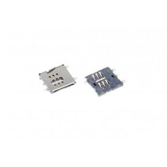 Коннектор SIM-карты (сим), mmc коннектор Apple iPad 2 / 3 / 4 ( S51 )