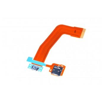 Шлейф Samsung Galaxy Tab S 3G T800/T801/T805 с разъемом зарядки и слотом карты памяти