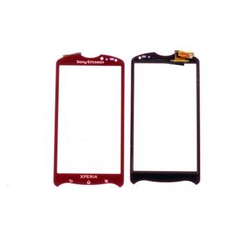 Сенсорное стекло,Тачскрин Sony-Ericsson MK16 Red (Original)