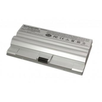 Аккумуляторная батарея для ноутбука Sony Vaio VGN-FZ (VGP-BPS8) 4800mAh OEM серебристая
