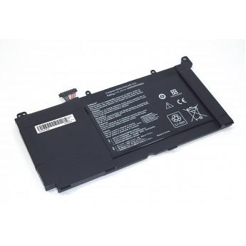 Аккумуляторная батарея для ноутбука Asus S551 11.1V 4400mAh OEM черная