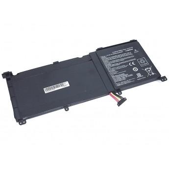 Аккумуляторная батарея для ноутбука Asus ZenBook Pro UX501VW (C41N1416-4S1P) 15.2V 60Wh OEM черная