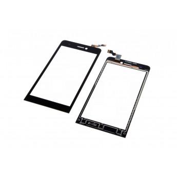 Сенсорное стекло,Тачскрин Archos 50 Helium 4G Black (Original)