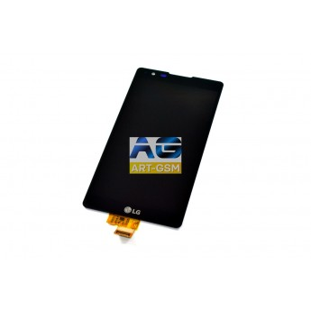 Дисплей с тачскрином (Модуль) LG X Power Lite K210 Black