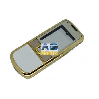 Корпусной часть (Корпус) Nokia 8800 Arte Gold в сборе без клавиатуры