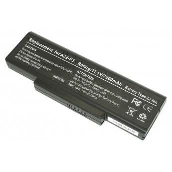 Аккумуляторная батарея для ноутбука Asus A9, F2, F3, S9, Z series 7800mAh A32-F3 OEM черная