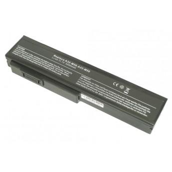 Аккумуляторная батарея для ноутбука Asus X55 M50 G50 N61 M60 N53 M51 G60 G51 5200mAh OEM черная