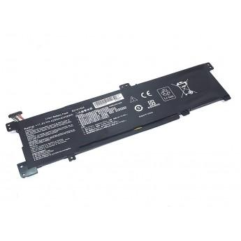 Аккумуляторная батарея для ноутбука Asus K401L (B31N1424-3S1P) 11.4V 48Wh OEM черная