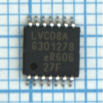 Микросхема 74LVC08APW