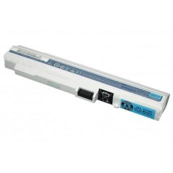 Аккумуляторная батарея для ноутбука Acer Aspire One ZG-5 D150 A110 A150 531h 11.1V 5200mAh OEM белая