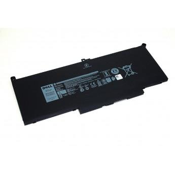 Аккумуляторная батарея для ноутбука Dell Latitude 13 7390 7.6V 7500mAh 2x39g черная Original