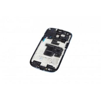 Корпусной часть (Корпус) Samsung I8190 S3 mini рамка дисплея Blue