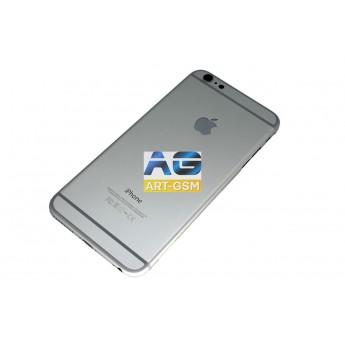 Корпусной часть (Корпус) Apple iPhone 6 Plus боковые кнопки в комплекте Silver AAA