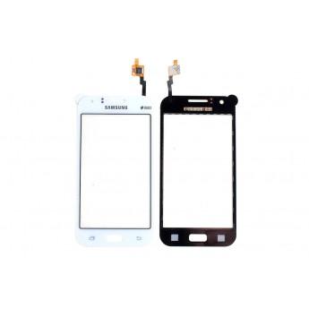Сенсорное стекло,Тачскрин Samsung J1 (J100H) Тачскрин White