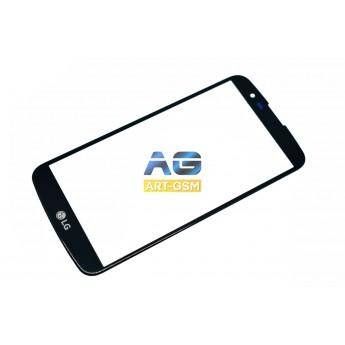 Стекло LG K10 K430DS Black