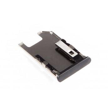 SIM лоток (Держатель сим карты) Nokia E7 Black
