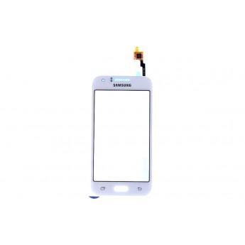 Сенсорное стекло,Тачскрин Samsung J1 (J100H) Тачскрин White GH96-08064E (Original)