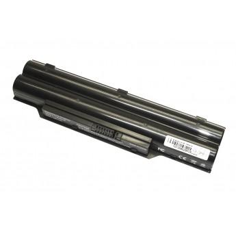 Аккумуляторная батарея для ноутбука Fujitsu Siemens Lifebook A530 5200mAh OEM CP477891-01 черная