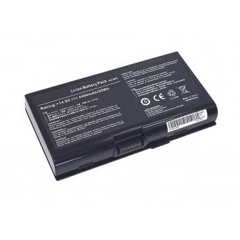 Аккумуляторная батарея для ноутбука Asus M70 14.8V 4400mAh OEM черная