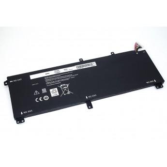 Аккумуляторная батарея для ноутбука Dell M3800-3S1P 11.1V 4400mAh черная OEM