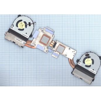 Система охлаждения для ноутбука Dell Alienware 17 R1 R2