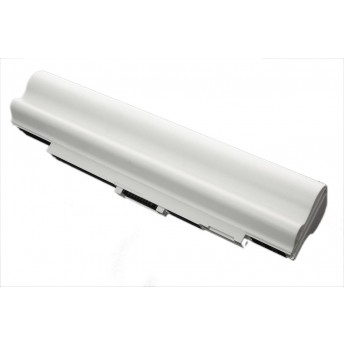 Аккумуляторная батарея для ноутбука Acer Aspire one 751 6600mAh OEM белая