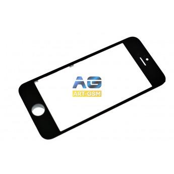 Стекло Apple Iphone 5S с рамкой+Oca Black