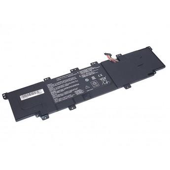 Аккумуляторная батарея для ноутбука Asus X402 11.1V 4000mAh OEM черная