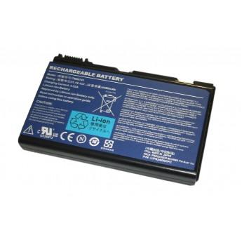 Аккумуляторная батарея для ноутбука Acer TravelMate TM00741 7520 (GRAPE32) 11.1V 5200mAh OEM черная